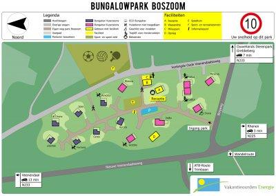 Visualisatie Bungalowpark Boszoom
